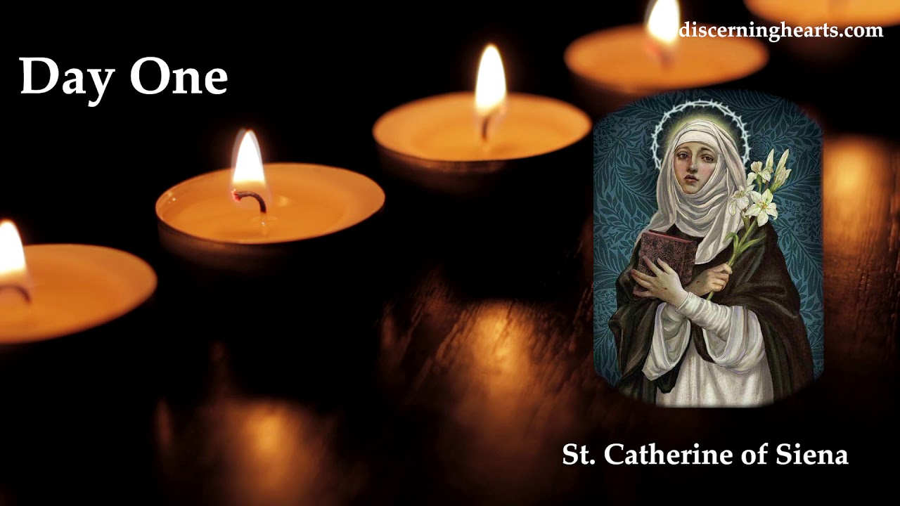 Novena to St. Catherine of Siena - Day One - YouTube