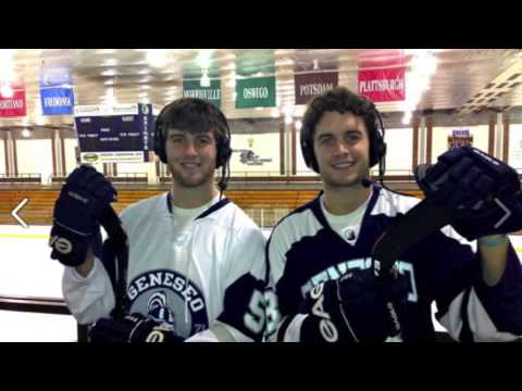 2014 SUNYAC Hockey Final Highlights; WGSU Radio Call