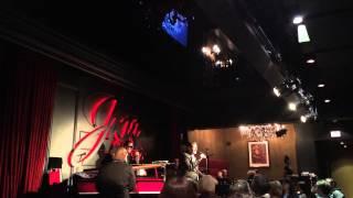 Micah Barnes sings Ballad of the Sad Young Men at Jazz Bistro