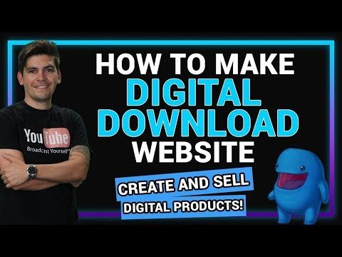 How To Create A Digital Download Website With WordPress – Sell Digital Products!