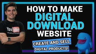 How To Create A Digital Download Website With Wordpress - Sell Digital Products!