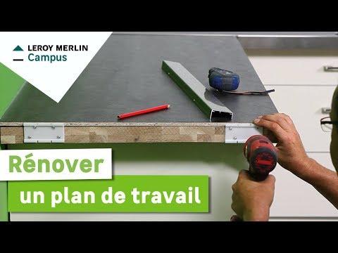 Comment Renover Mon Plan De Travail Leroy Merlin Youtube