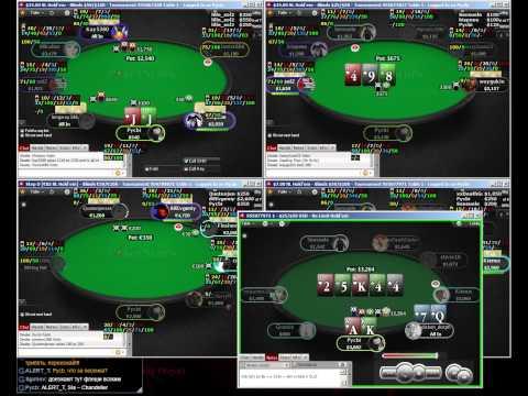 Покер 18.08.14 === PokerStars STT SNG 7-15-30$ === Выиграл Step E = 215€