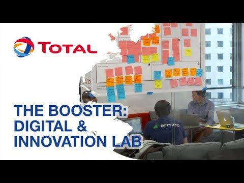 THE BOOSTER: the Total Digital & Innovation Lab | Total