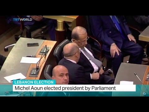 Lebanon Election: Michel Aoun elected president by Parliament
