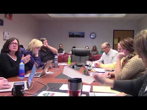 Mineral Point School Board 1.8.18