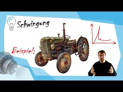 Schwingung: Traktor als Beispiel