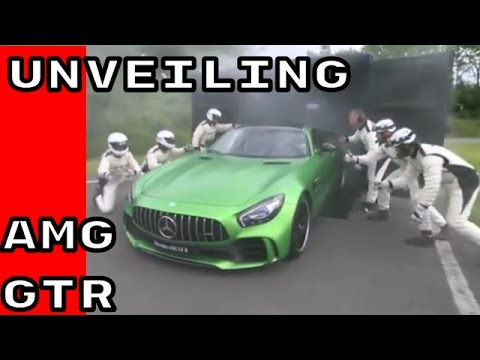 Mercedes AMG GTR Unveiling