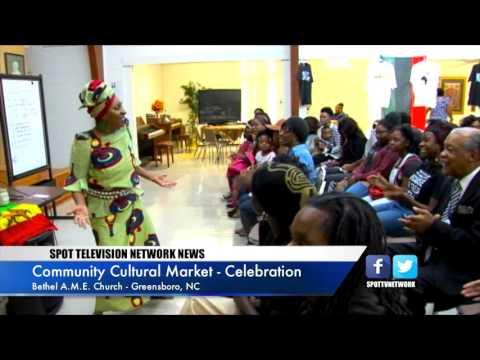 Greensboro Cultural Market - African Dance