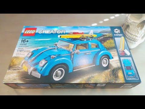 Lego Creator 10252 Volkswagen Beetle - Lego Build (1167 Pieces)
