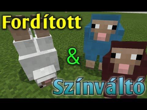 Minecraft: Színváltós Bárány? És Fordított?