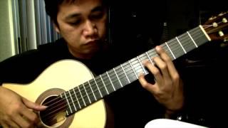 Sapagkat Ang Diyos Ay Pagibig - D. Magalong Jr. (arr. Jose Valdez) Solo Classical Guitar