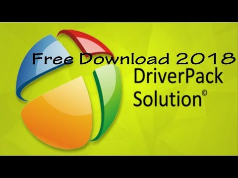 Driverpack solution offline | Free Download 2018 | All Pc Driver