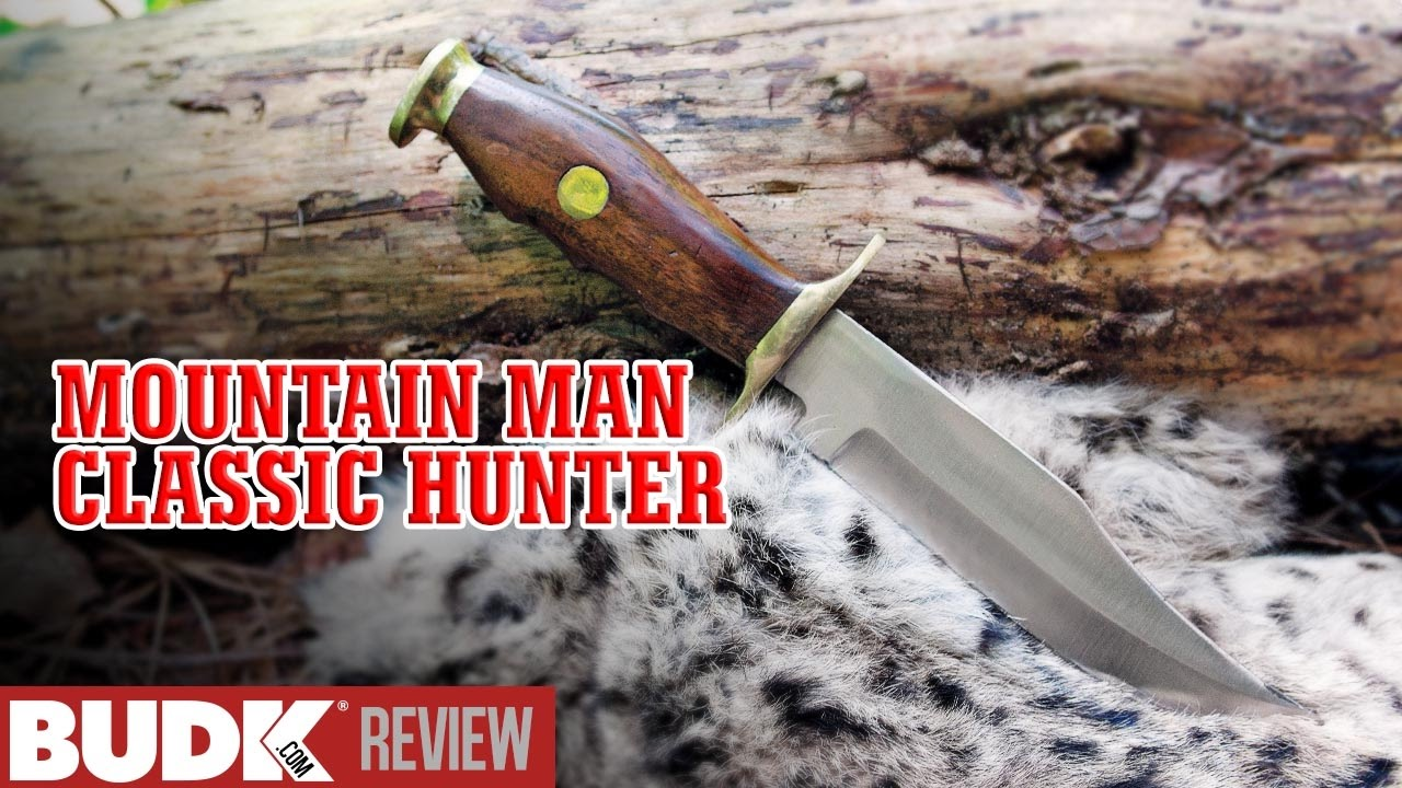 Mountain Man Classic Hunting Knife & Sheath - $6 99
