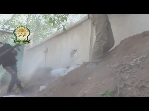 Graphic Syria footage: Amateur video purports to show bodies of pro-Assad troops