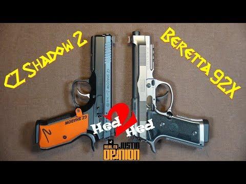 Beretta 92X Performance Vs. CZ Shadow 2