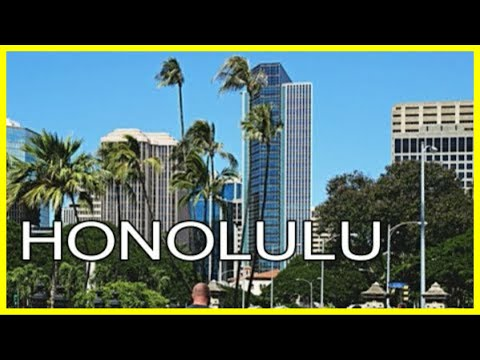 Downtown Honolulu, Hawaii | Walking Tour