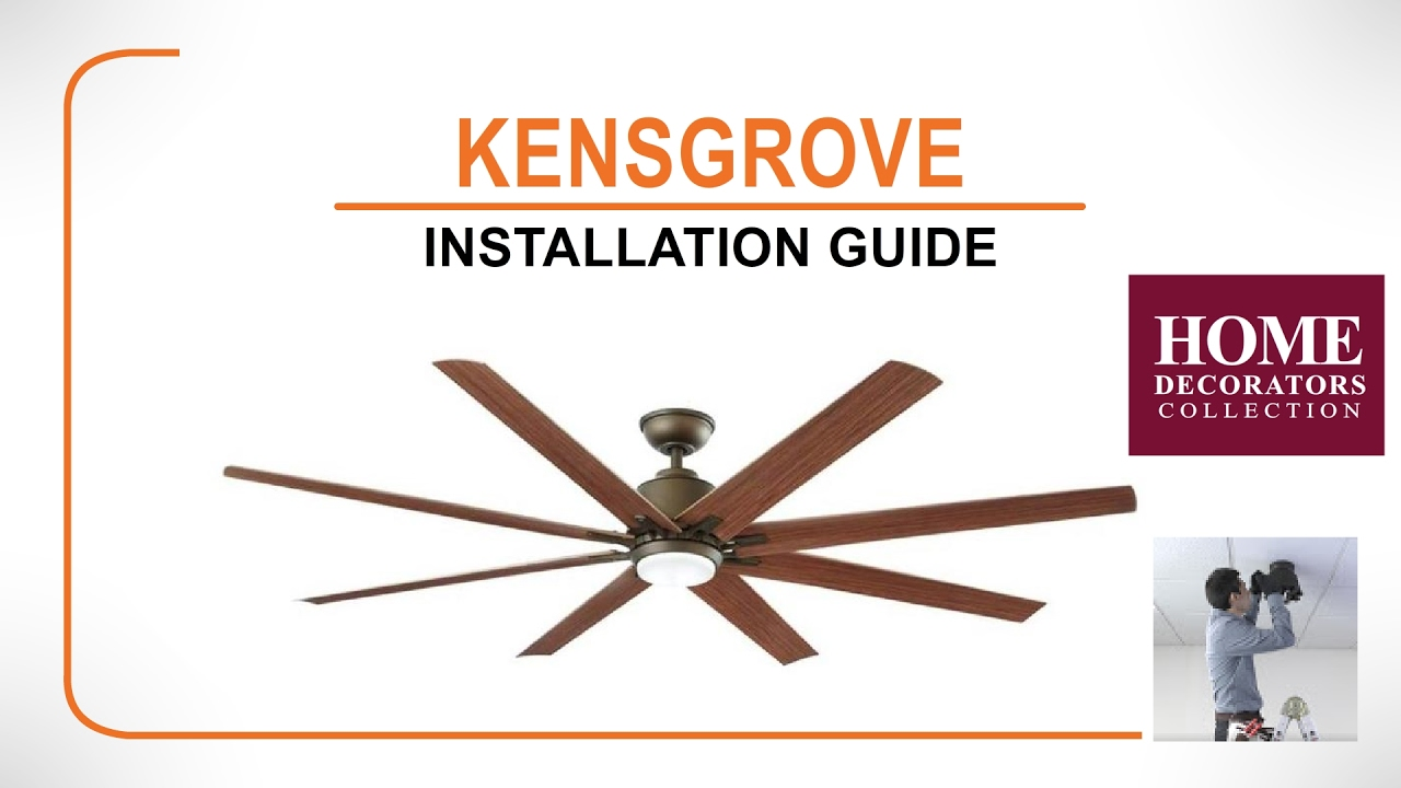 72 Kensgrove Ceiling Fan Installation Guide 2016 Version Youtube Wiring Instructions