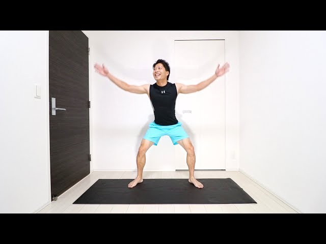 【1日10分】倍速脂肪燃焼最強筋トレ!脚・背中・胸をキュッと引き締める!
