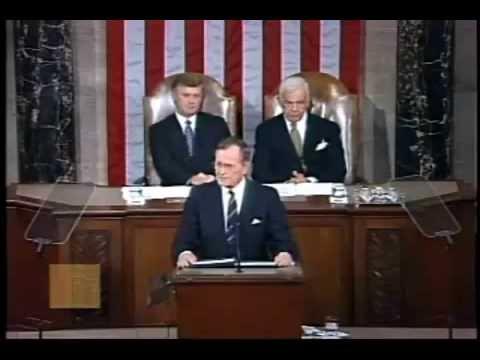 George H.W. Bush - Address on the End of the Gulf War
