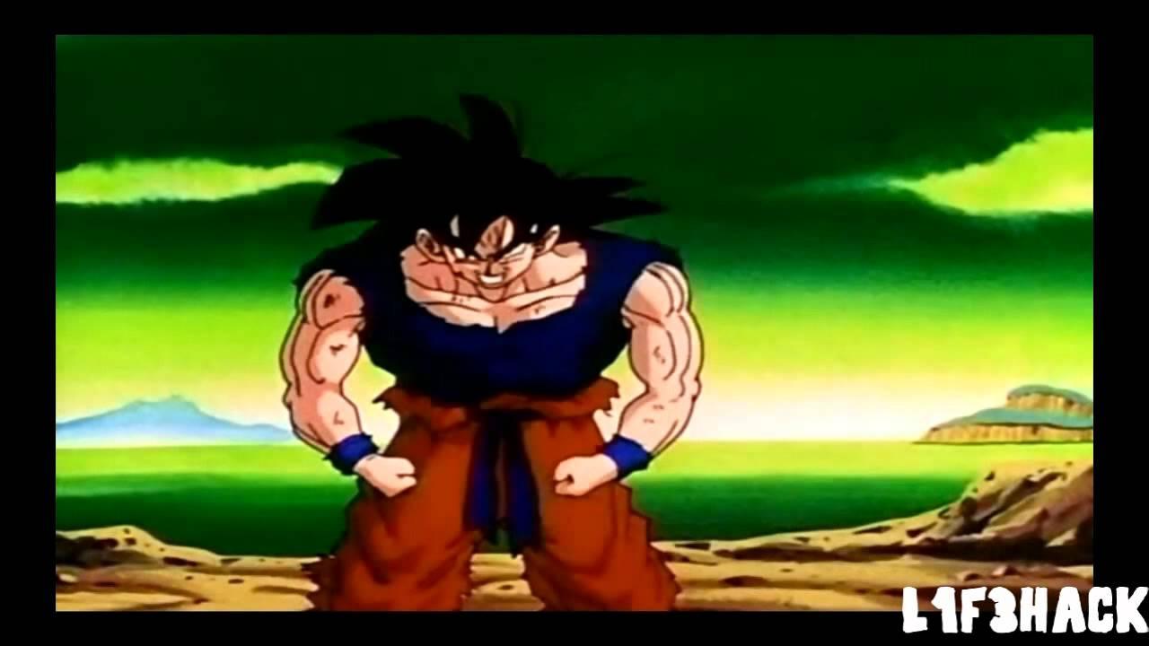 Goku Turns Super Saiyan For The First Time Hd - Youtube-9127