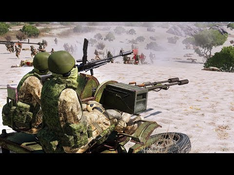 Arma 3 Zombie Mod: RUSSIAN Army (Армия России) Vs Zombies & Demons