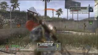 Modern Warfare 2: 88-9 with Tactical Knife / Killstreaks