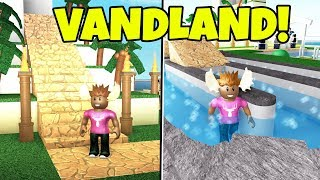 DELICIOUS WATER PARK! -English Roblox: Pool Tycoon 4