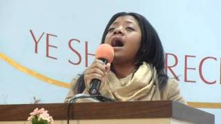 Sister Tiffany Vaval - Song:  In The Name Of Jesus We Have The Victory!