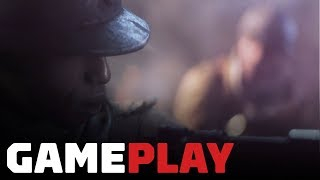 Battlefield 5 Campaign: 6  Minutes of Autumn Woods Gameplay (