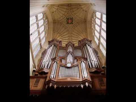 Handel Alla Hornpipe played by organ