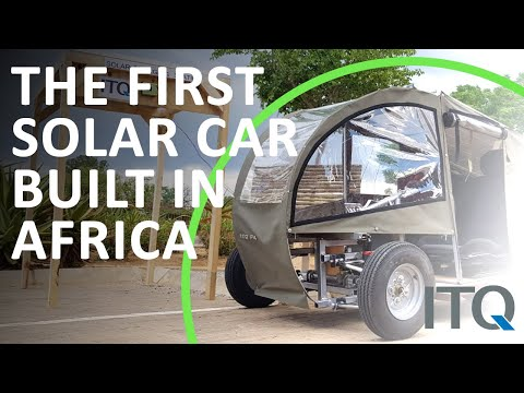 The First Solar Car built in Botswana, Africa! - ITQ GmbH