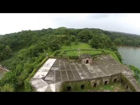 Fort San Lorenzo Aerial View - Sherman Colon Panama