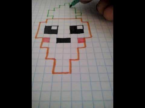 Pixel Art Kawaii Carrot Youtube