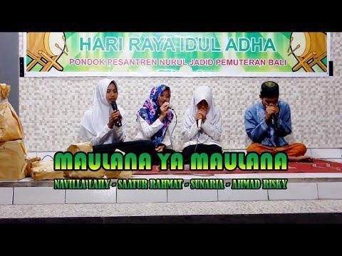 Sholawat Merdu Maulana Ya Maulana Nissa Sabyan Cover Nurul Jadid Bali