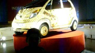 Eliza Belgaum & Mohd.Ali. Mulla at Tata Gold Car Exhibition-   05-10-2011