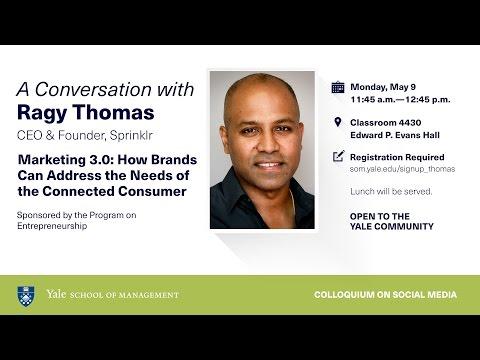 A Conversation with Ragy Thomas, CEO & Founder, Sprinklr