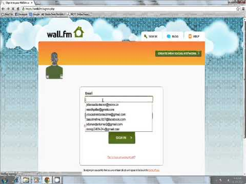 How To Change Wall.fm Site Adress