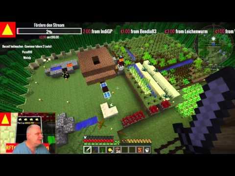 HosenCorp 01   Minecraft FTB Infinity Live - Stream Tutorial (Part 2)