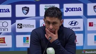 Après HAC - Brest (1-1), réaction d'Oswald Tanchot