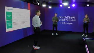 BoschDirekt #EinfachVorgestellt Förderungen