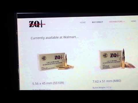 ZQI AMMO Info