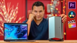2018 Macbook Pro + Blackmagic eGPU TESTED for Video Editors!