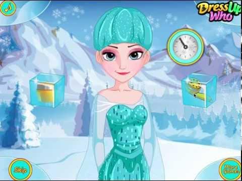 Холодное Сердце Прическа для Эльзы (Frozen Elsa Feather Chain Braids)