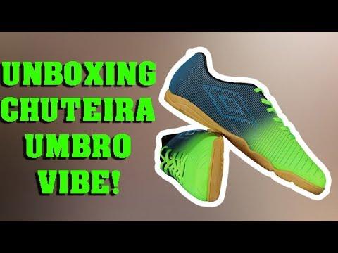 unboxing chuteira umbro vibe - YouTube e60818503efad