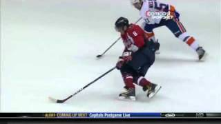 Alex Ovechkin's Amazing Overtime Goal Against Islanders - March 1st 2011