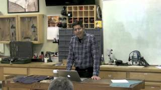 Jeff Miller's Designing And Building Chairs Class