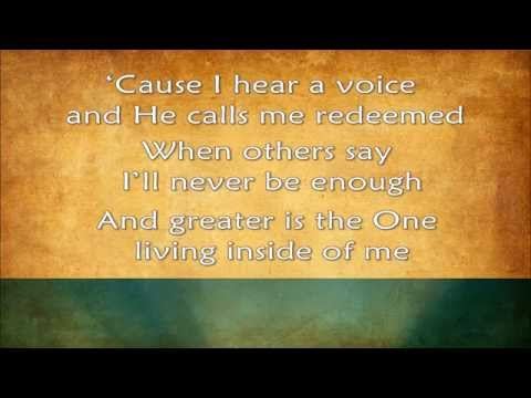 Greater - MercyMe (2014) HD - with lyrics