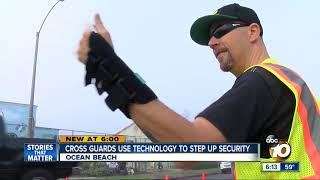 Cross Guards Use Technology To Step Up Security