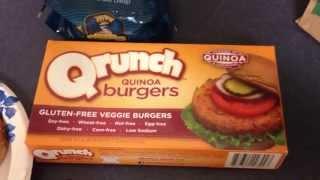 Qrunch Quinoa Veggie Burgers - Weightloss Meal - Gluten Free